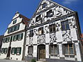 Günzburg, GZ - Institutstr Nr 12 u 14 Sgraffito.JPG
