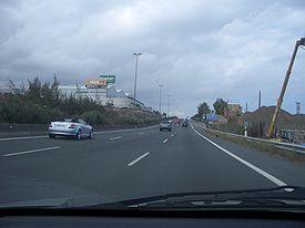 El Gobierno canario cerrará el carril izquierdo de la GC-3 para finalizar los trabajos de la zona