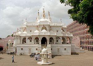 Shri Swaminarayan Mandir, Gadhada - The temple at Gadhada