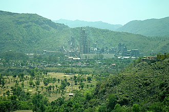 ACC (company) - The Gagal Cement Works of ACC Limited at Barmana, Himachal Pradesh.