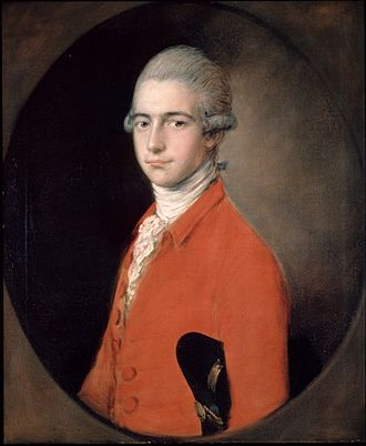 Thomas Linley the younger - Thomas Linley, by Gainsborough (c.1771)