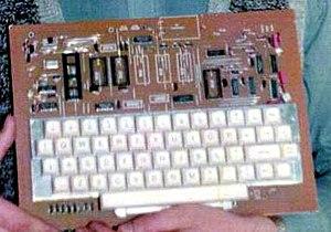 Galaksija (computer) - Image: Galaksija 1984