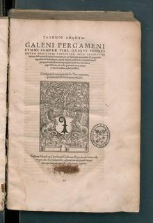 Galenou apanta, 1538