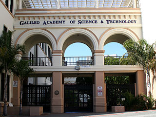 Galileo Academy of Science and Technology Public high school in San Francisco, California, United States