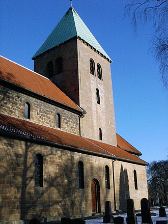 Old Aker Church - Image: Gamle Aker Kirke