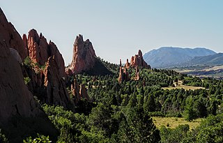Garden of the Gods Protected area