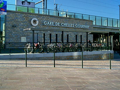 How to get to Chelles Gournay with public transit - About the place