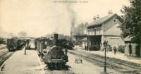 Gare des Bordes, Loiret, CP ancienne.png