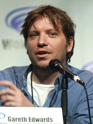 Gareth Edwards (director) - Edwards at the 2014 WonderCon.