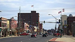 Garrison Avenue in historic Downtown Fort Smith