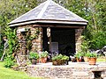 Gazebo at Fordmill Farm - geograph.org.uk - 676141.jpg