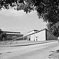 Gebouw van de agrarische faculteit van het Weizmann-Instituut te Rehovot, Bestanddeelnr 255-3942.jpg