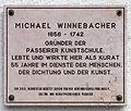 Gedenktafel Dorf (Moos in Passeier) Michael Winnebacher.jpg