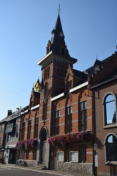 Neogotisch gebouw Opgericht 1898