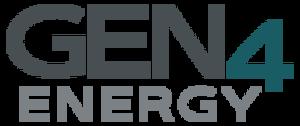 Gen4 Energy - Image: Gen 4 Energy logo