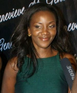 Africa Movie Academy Award for Best Actress in a Leading Role - 2005 AMAA Best Actress winner Genevieve Nnaji