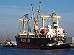 Genius Star VIII (ship, 2007) - IMO 9379868 & Tug 31 & Tug 42, Port of Antwerp pic1.JPG