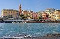 Genoa Nervi at sea level.jpg