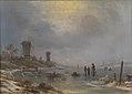 Georg Emil Libert - En vinterdag ved Elben - KMS1065 - Statens Museum for Kunst.jpg