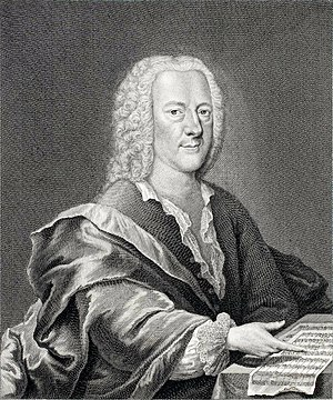 Georg Philipp Telemann - Telemann c. 1745, engraving by Georg Lichtensteger