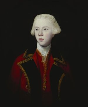 George Howe, 3rd Viscount Howe - George Augustus, 3rd Viscount Howe, Half-Length, Wearing the Uniform of the 1st Guard, by Sir Joshua Reynolds