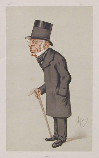 George Biddell Airy by Ape