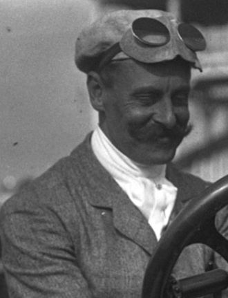 George Heath (racing driver) - George Heath in 1908