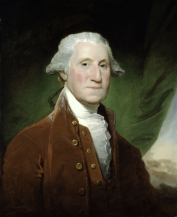 George Washington by Gilbert Stuart, 1795-96