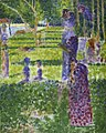 Georges Seurat - Study for A Sunday on the Island of La Grand Jatte - Couple Walking PC 140.jpg