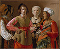 Georges de La Tour (French, Vic-sur-Seille 1593–1653 Lunéville) - The Fortune Teller - Google Art Project.jpg