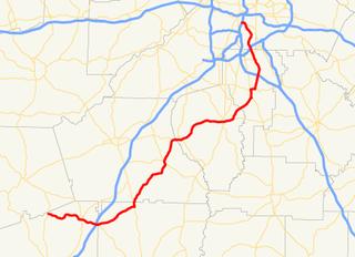 Georgia State Route 54 highway in Georgia