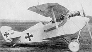 AEG D.I - AEG D.I fighter prototype