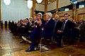 German Foreign Minister Steinmeier Applauds Secretary Kerry Before He Receives the Order of Merit in Berlin (31327004991).jpg