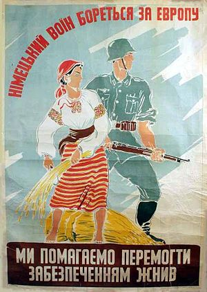 The Myth of the Eastern Front - Image: Germans in the Ost