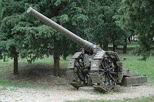 Cannone da 149/35 A - A cannone da 149/35 A in Redipuglia