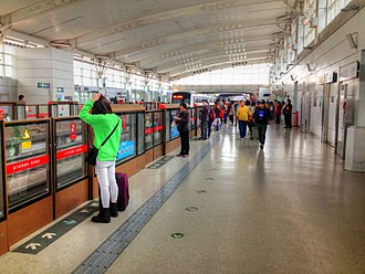 Rapid transit - The Beijing Subway is the busiest rapid transit system in the world.