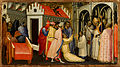 Gherardo Sternina - Saint Hugh of Lincoln Exorcises a Man Possessed by the Devil - Google Art Project.jpg