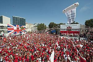 Disputed status of Gibraltar - Gibraltar National Day, 2013