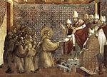 Statue of Giotto di Bondone, close to the Uffizi.