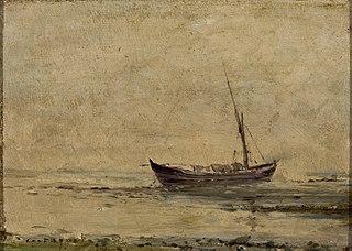 Marinha com barco