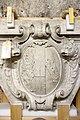 Gipsmodelle Wiener Historismus Hofburg-Keller 2015 Wappen Rudolf von Weyr a.jpg