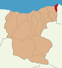 Giresun location Eynesil.png