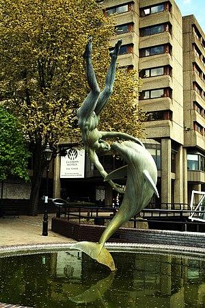1973 in art - David Wynne – Girl with a Dolphin