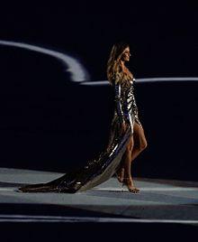 La Bündchen alla Cerimonia di apertura delle Olimpiadi 2016 a Rio de Janeiro.