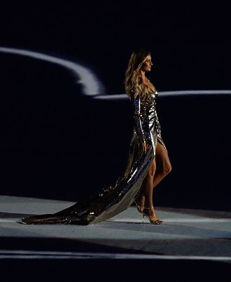 14f5fee29e Gisele Bündchen - Bündchen at the opening ceremony of the 2016 Summer  Olympics in Rio de
