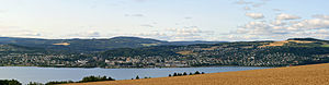 Gjøvik - A panorama of Gjøvik.