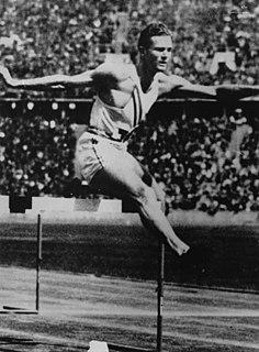 Glenn Hardin athletics competitor