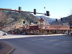 Grand Ave von Glenwood Springs