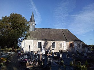 Glos-sur-Risle - The church in Glos-sur-Risle