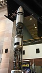 Goddard liquid fuel rocket 1941 - Smithsonian Air and Space Museum - 2012-05-15 (7275640430).jpg
